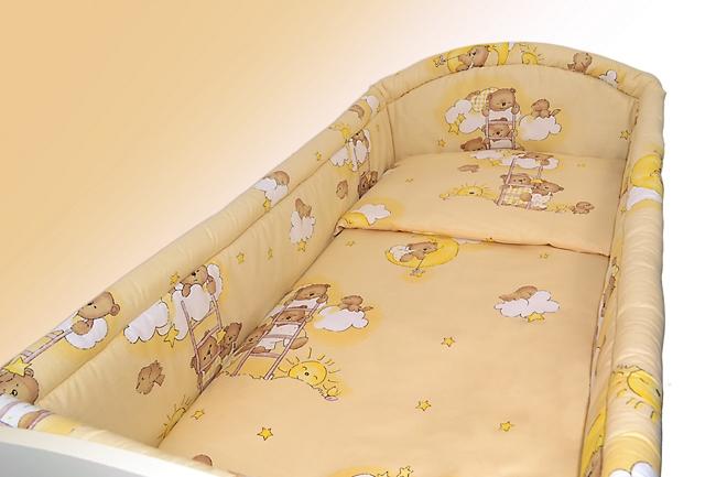 SAFARI BLUE BABY BEDDING SET ALLROUND BUMPER PILLOW DUVET COVER FOR COT 120x60 SET 5 PC