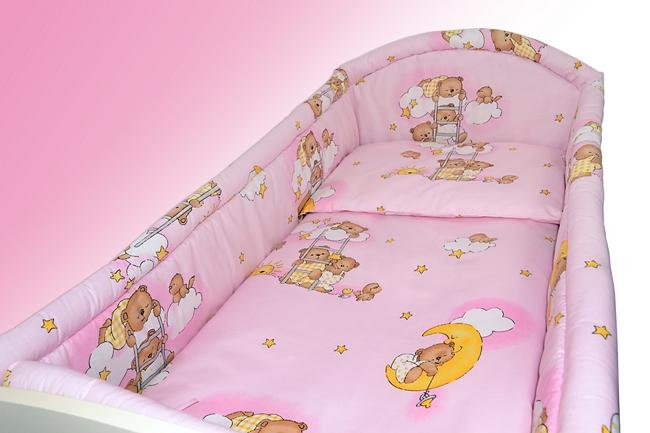 baby bettw sche set 2 3 4 5 6 pc allround nestchen kissen bettbezug f r ebay. Black Bedroom Furniture Sets. Home Design Ideas
