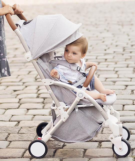 BABY TODDLER TRAVEL LIGHTWEIGHT PRAM STROLLER KIDS BUGGY PUSHCHAIR LIONELO JULIE